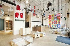 Puma Social Club by Edit!, Prague  store design