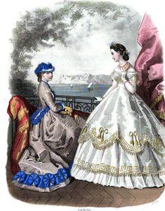 1864.  La Mode Illustree