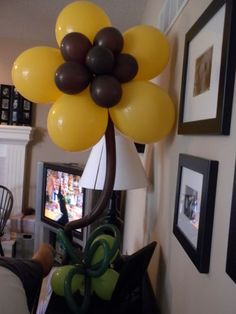 sunflower party decorations ideas for girls  | On Part 2, I showed you the larger Flying Monkeys we had created for ...