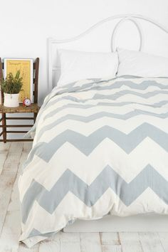 Chevron bedding. Yes, please.