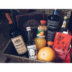 Props to Catherines brothers this year who pulled it out the bag with this stonker of a Christmas hamper featuring the wonderful plus other cocktail making paraphernalia. The best bit was that the tag was addressed to Whole Milk . Craft Gin, Gin Lovers, Christmas Hamper, Cocktail Making, Christmas Drinks, Gin And Tonic, Distillery, Whiskey Bottle, Food Photography