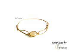 #koubera #accessoire de mode #bijoux #bracelet #pierre #agate #argent #simplicity #mode #femme #2015