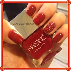 Nails Inc #redmani #pretty #nailart - bellashoot.com & bellashoot iPhone & iPad app