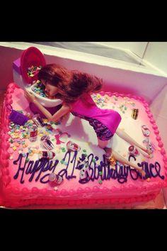 21st birthday cake!