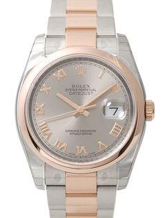 Rolex Datejust 36 116201 Stahlfarben Römisch