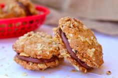Potato Chip and Nutella Cookie Sandwiches