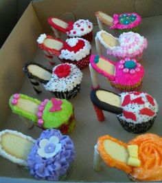 Cupcake zapatillas