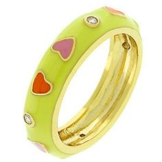 Multi Color Hearts Ring – MNM Gifts