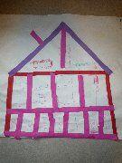 Huis van strookjes