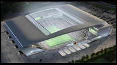 Futuro Estádio do Corinthians | Design Minimal  Arquiteto: Aníbal Coutinho Localização: Itaquera-SP
