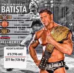 Batista Catch Wrestling, Wrestling Divas, Batista Wwe, Wwe Women's Championship, Wrestling Posters, Wwe Belts, Wwe Tna, Wwe Champions, Wrestling Superstars