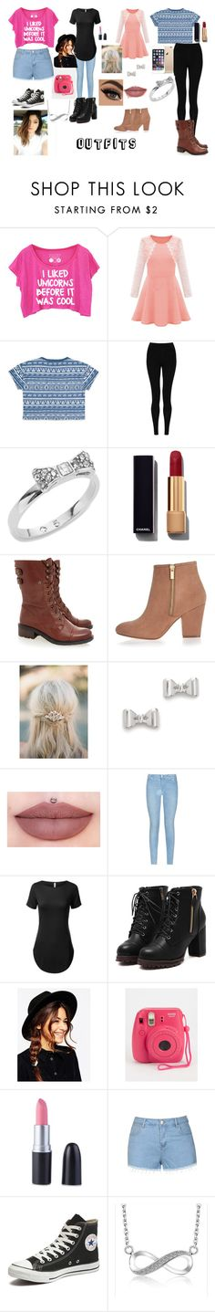 """""""Outfits"""" by sukh-deol on Polyvore featuring Forever 21, M&S Collection, Kate Spade, Chanel, Sam Edelman, River Island, Marc by Marc Jacobs, 7 For All Mankind, ASOS and Ally Fashion"""