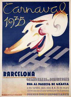 CARNAVAL DE BARCELONA.1935