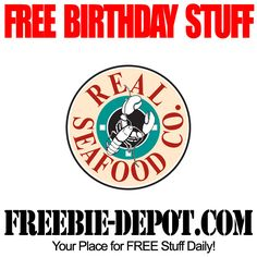 BIRTHDAY FREEBIE - Real Seafood Co. - FREE Birthday Meal and FREE Birthday Dessert - FREE Seafood Dinner for your Birthday #freebirthday