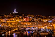 Marseille By Night by SRPhotographies. Please Like http://fb.me/go4photos and Follow @go4fotos Thank You. :-)