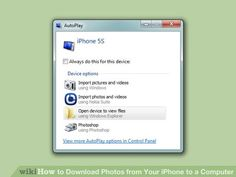 Image titled Download Photos from Your iPhone to a Computer Step 1