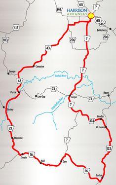 Bike Rally, Bike Run, Cool Places To Visit, Places To Travel, Places To Go, Motorcycle Travel, Motorcycle Rides, Bike Rides, Harrison Arkansas