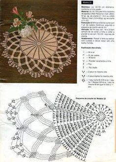 Kira scheme crochet: Scheme crochet no. 1642
