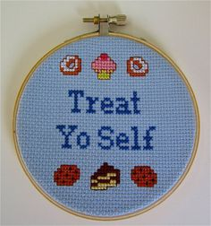 @Tara Jackson  - this combines your love of Parks and Rec w/ your crafty cross-stichiness... DO IT!