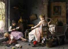 paintings of family life - Google Search