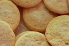 classic soft and chewy sugar cookies Chewy Sugar Cookie Recipe, Easy Sugar Cookies, Yummy Cookies, Fudge Recipes, Cookie Recipes, Snack Recipes, Snacks, Cookie Desserts, Healthy Recipes