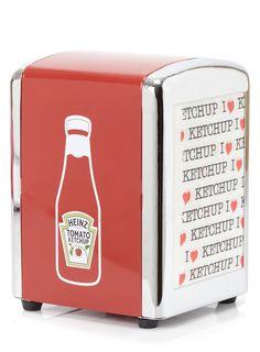 Heinz ketchup napkin dispenser