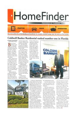 Coldwell Banker #1 in Florida!