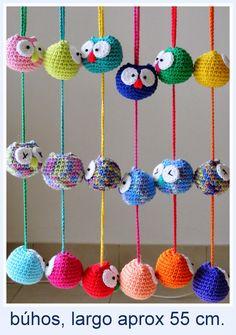 Amigurumis en un Click: móviles, colgantes... Crochet Home, Crochet Gifts, Crochet Dolls, Crochet Bikini Pattern, Crochet Patterns, Crochet Dreamcatcher, Crochet Mobile, Cd Crafts, Crochet Baby Boots