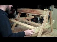 How to build a kids picnic table and sandbox combo