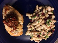 Red Pepper Walnut Relish ... great to top chicken, omelets, or really anything!  From #BonAppetit Cleanse 2014