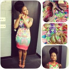 havana twist with shaved sides | Chrisette Michele Wows Instagram With Fabulous Havana Twists