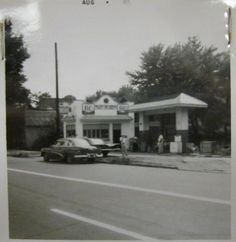 Asheville, NC: Miller's Cab Service on Southside Avenue is shown in this archival photo taken in the 1960s to document buildings subject to urban renewal.