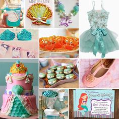 Jules' Got Style: Ariel The Little Mermaid Birthday Party Ideas