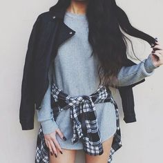 Cute outfit. Teen fashion. Grunge fashion