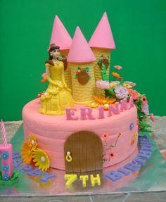 Belle cake Princess Belle Cake, 4th Birthday Cakes, Funny Cake, Cake Ideas, Birthdays, Parties, Foods, Desserts, Anniversaries