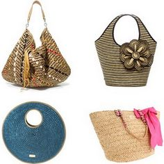 We love this Rebecca Minkoff beach bag! Who doesn't want to be ...