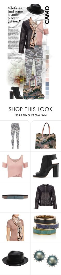 """""""Go Camo"""" by dadanana ❤ liked on Polyvore featuring True Religion, Lipsy, Maison Margiela, Lanvin, Paul Smith, Yarnz, Pamela Love, agnès b., Cutler and Gross and polyvoreeditorial"""