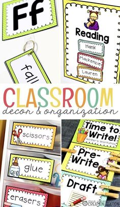 Are you looking for classroom decor and organization that actually works? If I have learned anything over the years, having a consistent text is the best way to create a classroom that is appealing to your students and doesn't take away from learning. This bundle is bright, clear and purposeful in keeping your classroom organized and your learners learning! #classroom #decor #teaching #organization #management