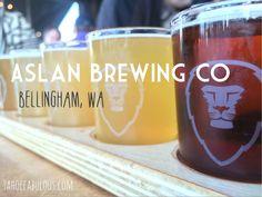 Aslan Brewing Co: Amazing northwest IPAs in Bellingham, Washington // tahoefabulous.com