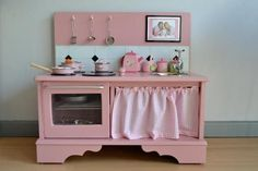 Matilda's Very Own DIY Play Kitchen