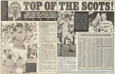 Top of the Scots! #Shoot! 1969-11-22