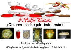 Nuestros productos para #selfiepatata.