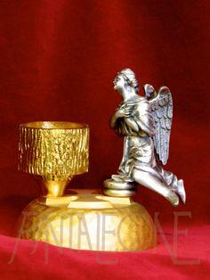 hCandeliere con angelo bicolore