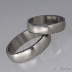 Titanový snubní prsten - Klasik titan Simple Wedding Bands 4bcc6bae0e2