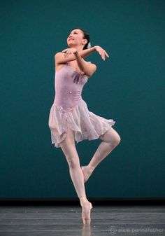 The Royal Ballet First Soloist, Yuhui Choe in Ballo della Regina