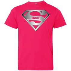 Men's Super Uncle T-Shirt is the Best Tee Shirt From Niece Nephew-01 Youth Jersey Tee