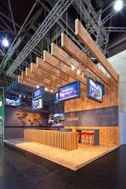 Resultado de imagem para wood exhibition booth