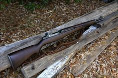 Legendary M1 Garand rifle. Patton considered this the weapon that won ww2