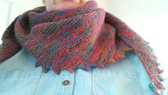 Not beads but a knitted Hitchhiker. Pattern can be bought at www.strickmich.de