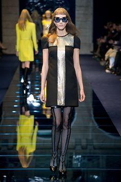 Défilé Automne-hiver 2012-2013 Versace - Les lunettes défilent